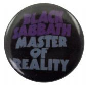 Black Sabbath - 'Master of Reality' Button Badge